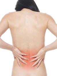 交通事故による腰痛イメージ